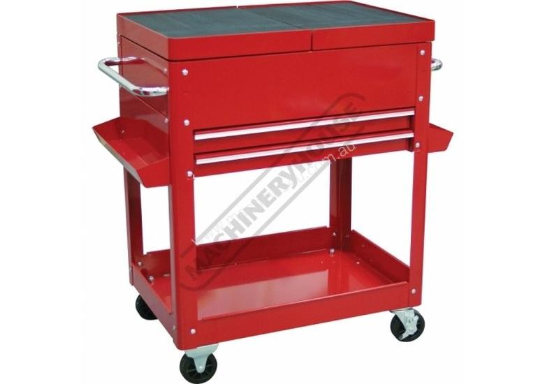 SDC-2D Steel Service Cart 2 Drawers