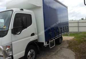 2007 Mitsubishi FUSO CANTER 6 PALLET CURTAINSIDER