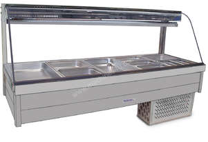 Roband CRX25RD Curved Glass Refrigerated Display