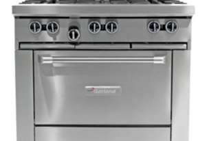 Garland GF36-6R 6 Burner Restaurant Oven Range Natural Gas
