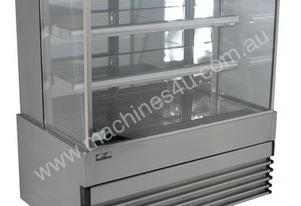 Koldtech KT.NRSQCD.9 Square Glass Ambient Display Cabinet - 900mm
