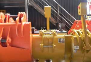 Komatsu PC120 Grapple/Grab Attachments