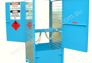 Dual Sided 150Kg Access Security Type Gas Storage