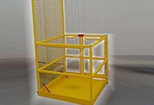 Safety Cage Fully Welded Painted
