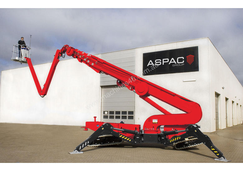 New 2016 Aspac Group ZEUS 52 17 40+m Articulating Boom Lift in Hallam ...