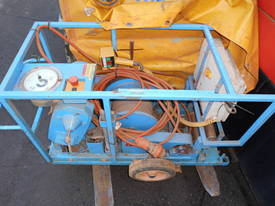 16Kn to 35Kn cable haul winch , 3phase , - picture2' - Click to enlarge
