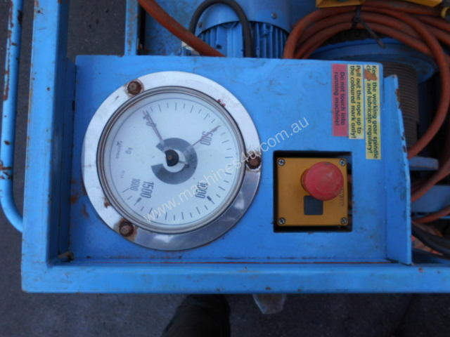 16Kn to 35Kn cable haul winch , 3phase ,