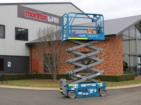 2012 Genie GS1932 - Narrow Electric Scissor Lift - picture0' - Click to enlarge