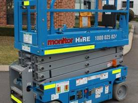 2012 Genie GS1932 - Narrow Electric Scissor Lift - picture2' - Click to enlarge