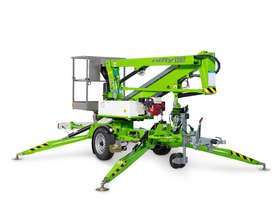 Nifty 120T 12.2m Trailer Mount  - Maximum reach - compact chassis - picture3' - Click to enlarge