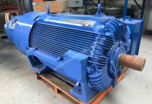 450 kw 600 hp 6 pole 3300 volt Slip Ring Electric Motor