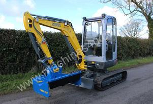 Slanetrac FH Series 1000mm Twin Cut Flail Mower