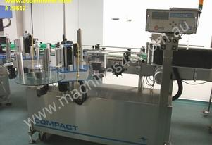 Compact Hi Speed wrap around labeller