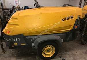 Atlas Copco 185 CFM DIESEL AIR COMPRESSOR