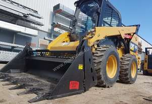 USED CAT 262D XPS SKIDSTEER WITH LOW 960 HOURS