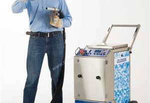 Combi 72 three machines in one dry ice blaster