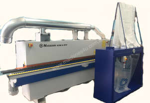 Edgebanders NikMann KZM6TF with premilling unit and dust extractor
