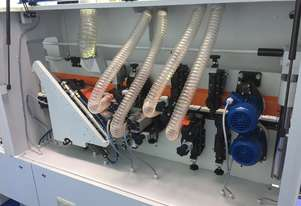 NikMann KZM6TF-v21 edgebander with premilling unit and dust extractor