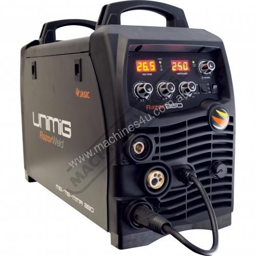 New Unimig Razor 250 Mts Single Phase Multi Process In