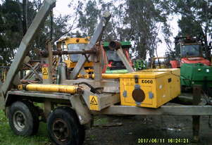 6.5 ton hydraulic self loader , drum drive , 9ton atm