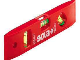Sola Compact Plastic Torpedo Spirit Level with Magnetic Base - picture2' - Click to enlarge