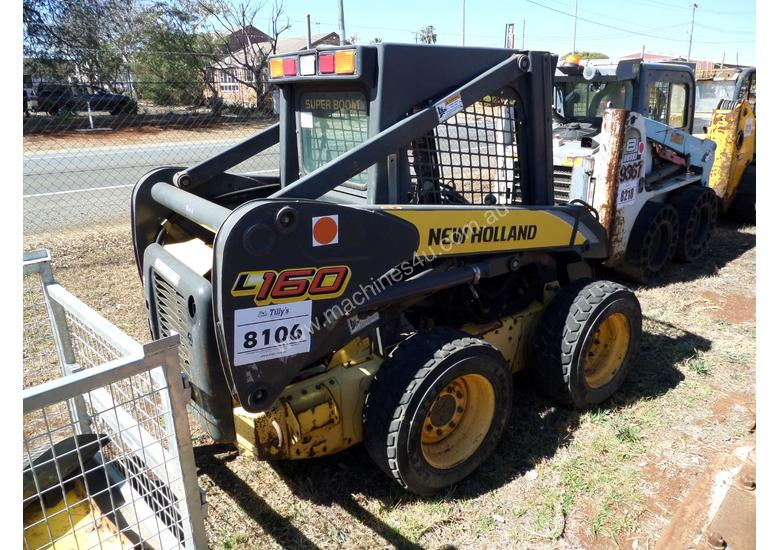 2006 New Holland L160 Skid Steer *CONDITIONS APPLY*