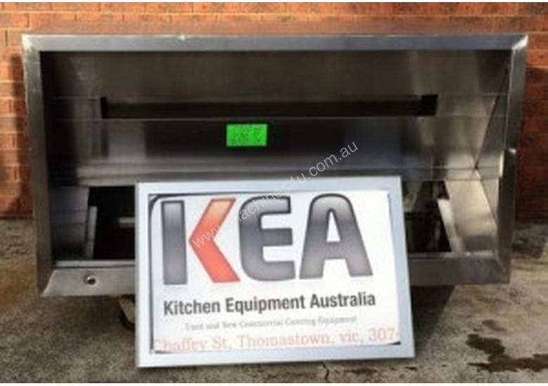 1700 USED STAINLESS STEEL EXHAUST CANOPY