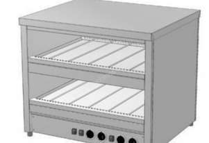 Culinaire CH.HFS.F2.1500 Flat Hot Food Slide - Dual Slide Model