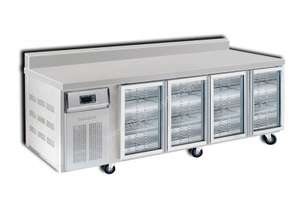 Semak BC2400-G6 4 Door 2400 Bar Chiller with Splashback
