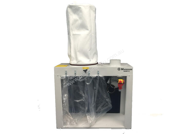 NIKMANN-v63, BUSINESS STARTER PACKAGE incl edgebander , panel saw and dust extractor