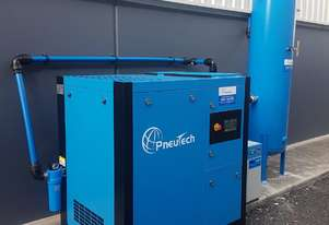 Pneutech PR Series 30hp (22kW) Variable Speed Rotary Screw Air Compressor