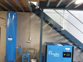 Pneutech PR Series 30hp (22kW) Variable Speed Rotary Screw Air Compressor - picture1' - Click to enlarge