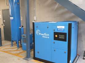 Pneutech PR Series 30hp (22kW) Variable Speed Rotary Screw Air Compressor - picture0' - Click to enlarge