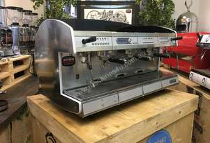 WEGA CONCEPT 3 GROUP ESPRESSO COFFEE MACHINE RED