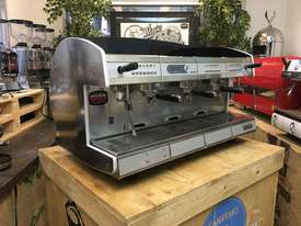 WEGA CONCEPT 3 GROUP ESPRESSO COFFEE MACHINE RED - picture0' - Click to enlarge