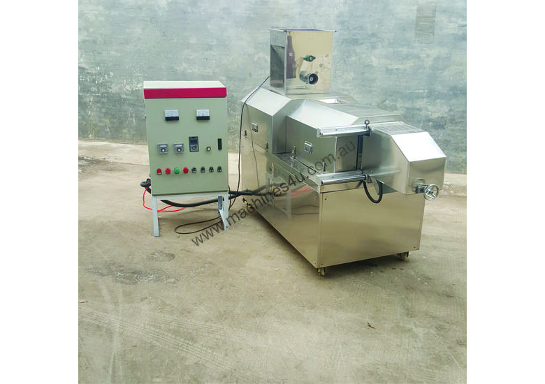 Pet food and floating fish food extruder