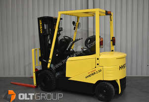 Hyster J2.5HEX 2.5 Tonne Electric Forklift 4th Hydraulic Valve Sideshift Container Mast