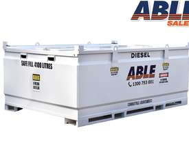 Able Fuel Cube Bunded 4150 Litre (Safe Fill 3740 Litre) - picture0' - Click to enlarge