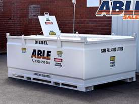 Able Fuel Cube Bunded 4150 Litre (Safe Fill 3740 Litre) - picture1' - Click to enlarge