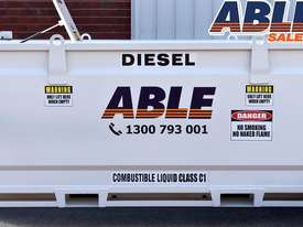 Able Fuel Cube Bunded 4150 Litre (Safe Fill 3740 Litre) - picture2' - Click to enlarge