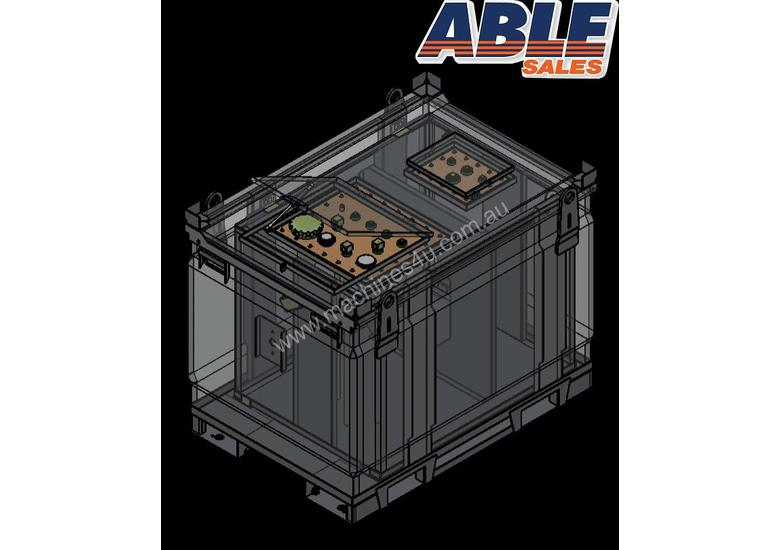 Able Fuel Cube Bunded 4150 Litre (Safe Fill 3740 Litre)