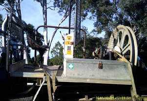 optic fibre winch on tray ex Telstra ,