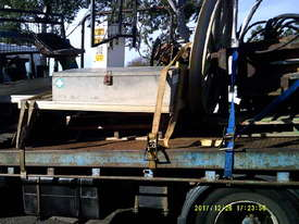 optic fibre winch on tray ex Telstra ,  - picture1' - Click to enlarge