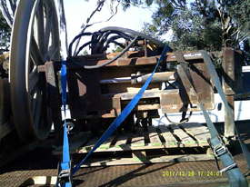 optic fibre winch on tray ex Telstra ,  - picture2' - Click to enlarge
