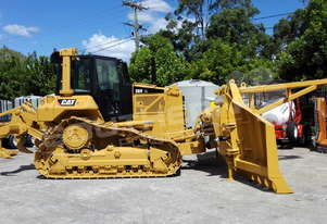 D6N XL Bulldozer w Stick Rake Tree Spear DOZCATM