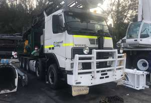 2002 Volvo FH16 Truck Mounted With Reichdrill T-690-W Drill Rig