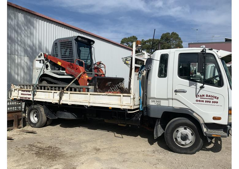 Positrac / Tipper combination with attachments READY TO WORK!