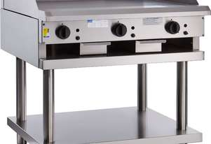 900mm Griddle with legs & shelf