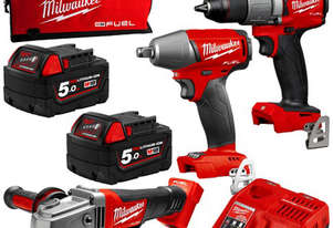 IMPACT WRENCH DRIVER GRINDER 5AH BATTERY