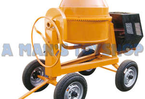 CEMENT MIXER 8 CU/ FT 7HP DIESEL 4 WHEEL